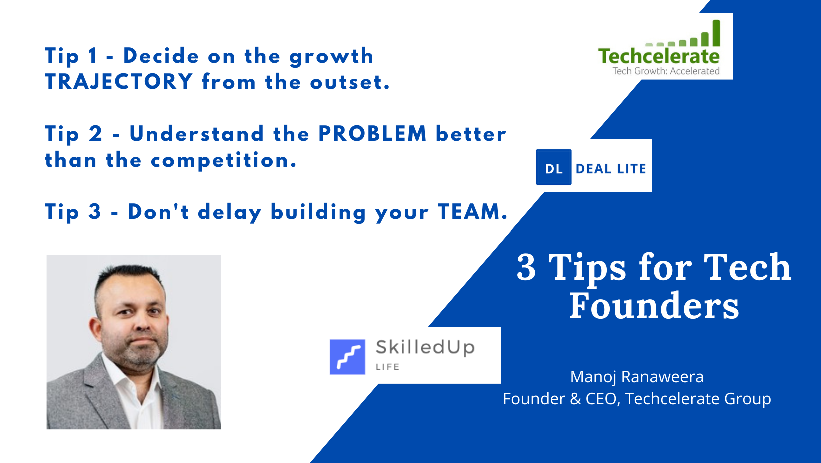 3 Tips for Tech Founders